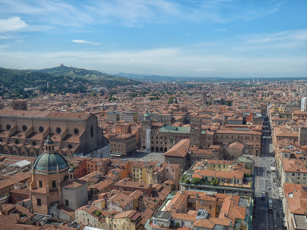Bologna from the tower