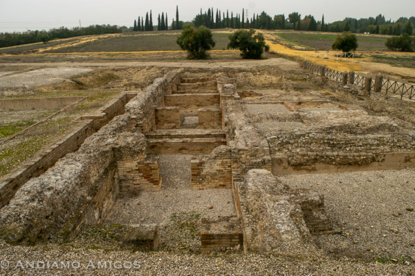The excavations at Italica, Seville