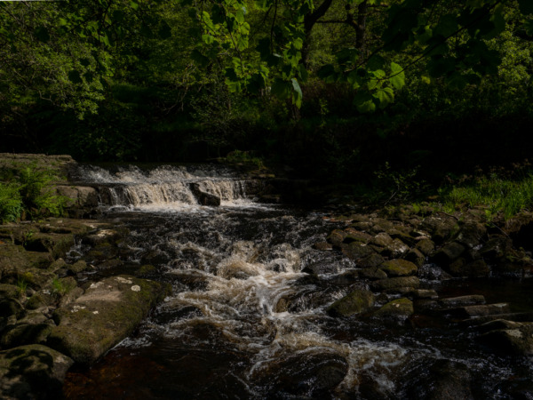 Waterfall Hardcastle Crags