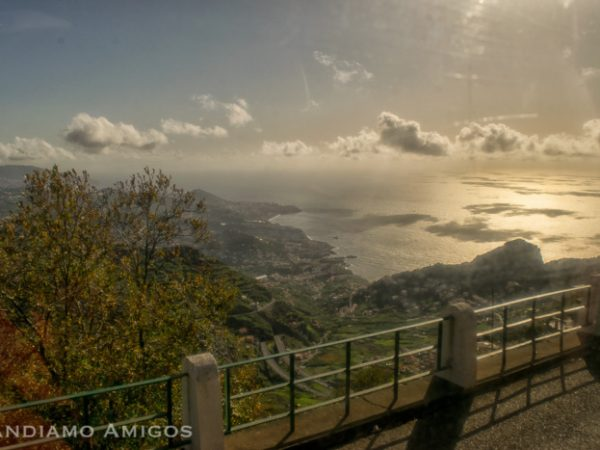The view back to Funchal at Cabo Girao